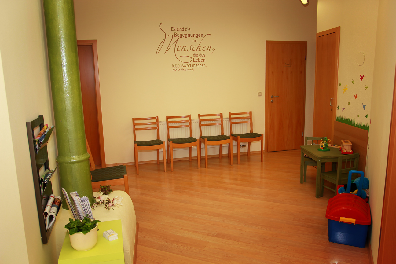 Ergotherapie-Praxis Daniela Schneider | Wartebereich